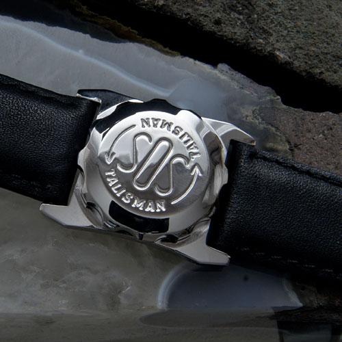 SOS Talisman ST01 Genuine Man's Size Stainless Steel Watch Type Medical ID Jewellery.