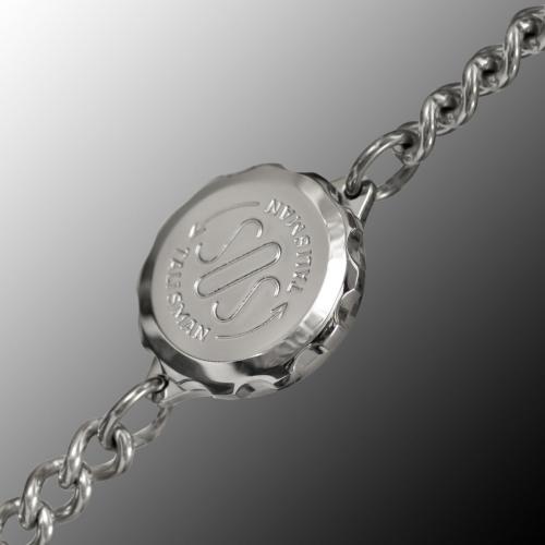 SOS Talisman ST10 Ladies Size Medical ID Alert Diabetic, Epilepsy, Allergy Bracelet. Stainless Steel. Waterproof.