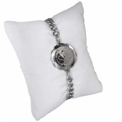 SOS Talisman ST10 Ladies Size Medical ID Alert Diabetic, Epilepsy, Allergy Bracelet. Stainless Steel. Waterproof.