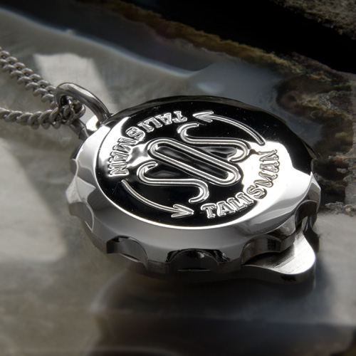 SOS Talisman ST27 Medical ID Alert Diabetic, Epilepsy, Allergy Pendant (Necklace) Stainless Steel. Waterproof.