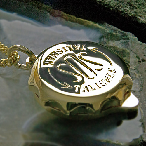SOS Talisman ST42 Gold Plated Medical ID Alert Pendant (Necklace) Allergy, Diabetes, Epilepsy etc. Gold Plated.